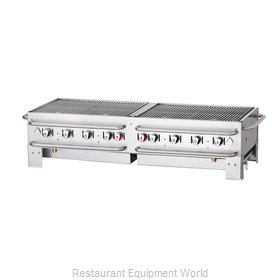 Crown Verity CV-PCB-60 Charbroiler, Gas, Outdoor Grill