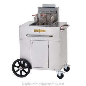 Crown Verity CV-PF-1NG Fryer, Gas, Outdoor Portable