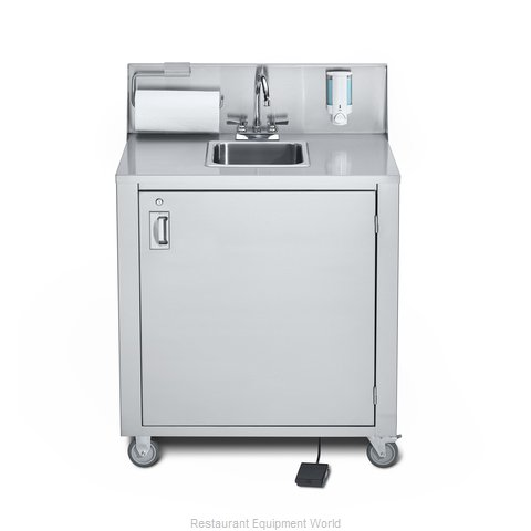 Crown Verity CV-PHS-1 Hand Sink, Mobile (Magnified)