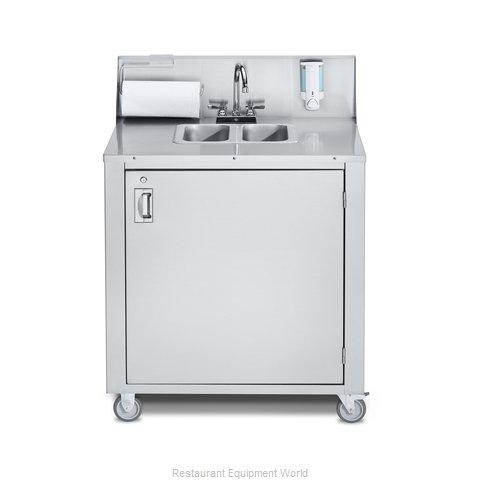 Crown Verity CV-PHS-2C Hand Sink, Mobile