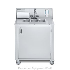 Crown Verity CV-PHS-3C Hand Sink, Mobile