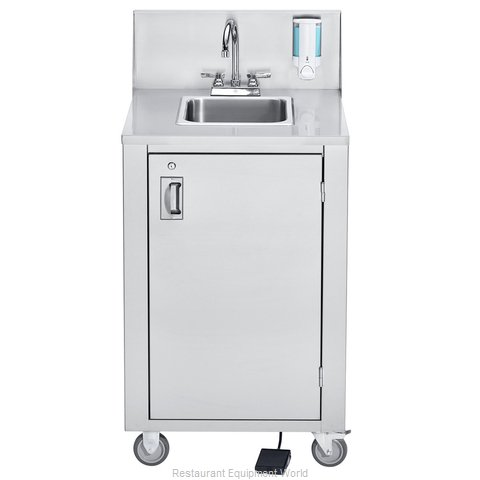 Crown Verity CV-PHS-4 Hand Sink, Mobile (Magnified)