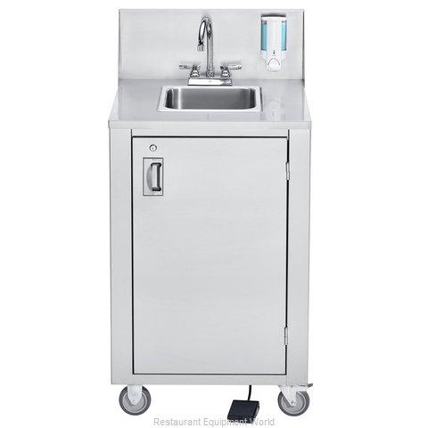 Crown Verity CV-PHS-4C Hand Sink, Mobile