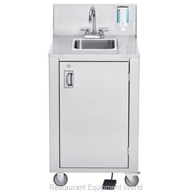 Crown Verity CV-PHS-4C Hand Sink, Mobile
