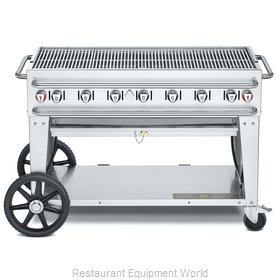 Crown Verity CV-RCB-48-LP Charbroiler, Gas, Outdoor Grill