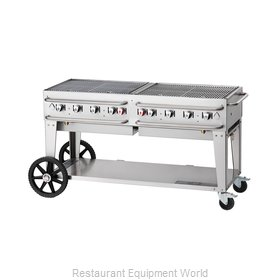 Crown Verity CV-RCB-60-SI-LP Charbroiler, Gas, Outdoor Grill