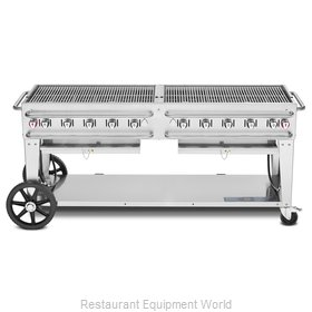 Crown Verity CV-RCB-72-LP Charbroiler, Gas, Outdoor Grill