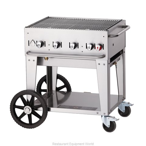 Crown Verity MCB-30LP Charbroiler Gas Outdoor Grill