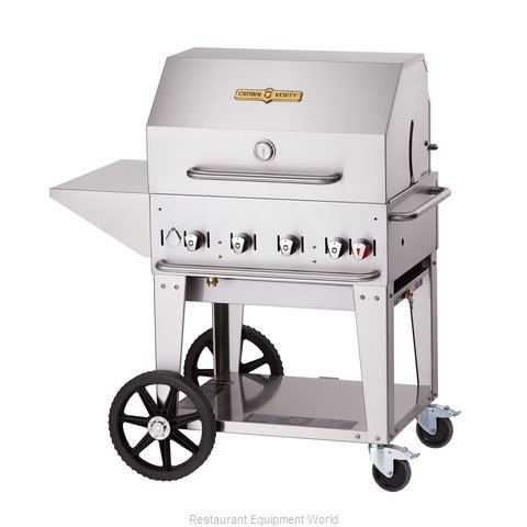 Crown Verity MCB-30PKG-LP Charbroiler Gas Outdoor Grill