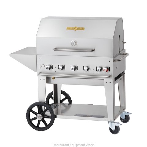 Crown Verity MCB-36PKG-NG Charbroiler Gas Outdoor Grill