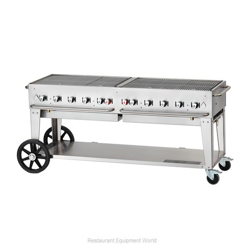 Crown Verity MCB-72LP Charbroiler Gas Outdoor Grill