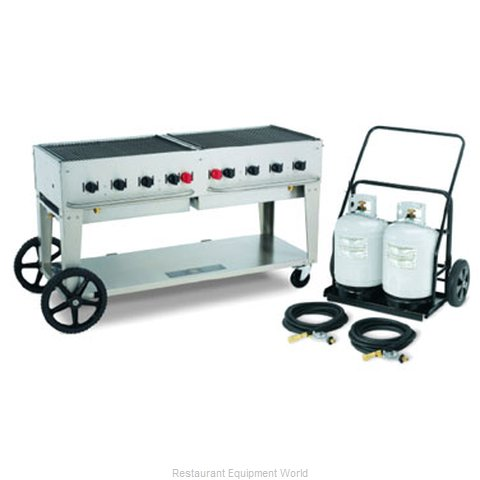 Crown Verity MCC-60 Charbroiler Gas Outdoor Grill