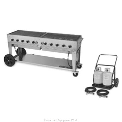 Crown Verity MCC-72 Charbroiler Gas Outdoor Grill