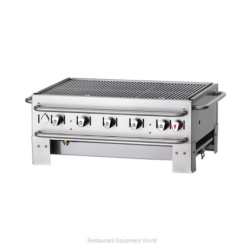 Crown Verity PCB-36 Charbroiler Gas Outdoor Grill
