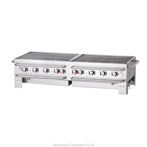 Crown Verity PCB-60 Charbroiler Gas Outdoor Grill