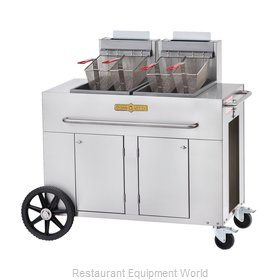 Crown Verity PF-2NG Fryer Gas Outdoor Portable