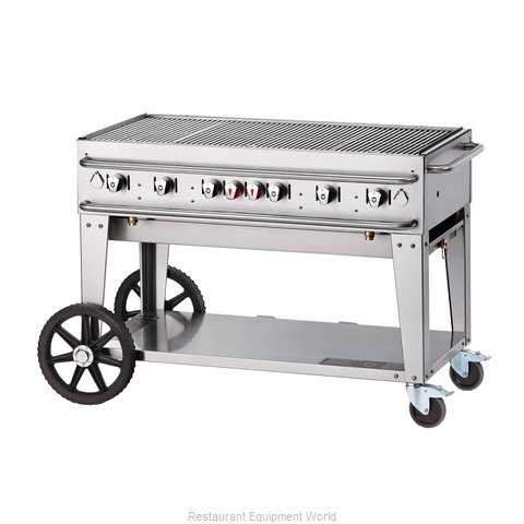 Crown Verity RCB-48-SI-LP Charbroiler Gas Outdoor Grill