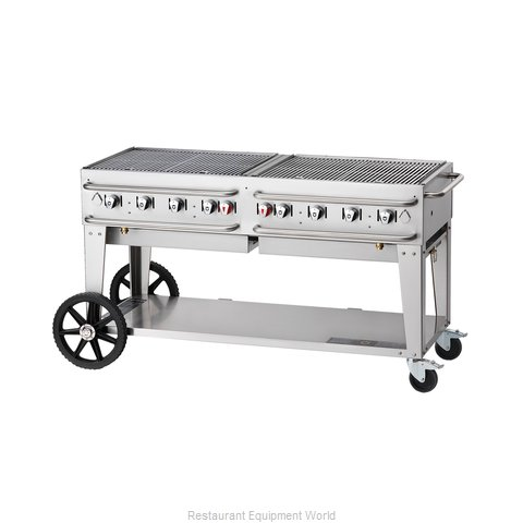 Crown Verity RCB-60-SI-LP Charbroiler Gas Outdoor Grill