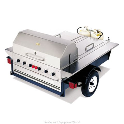 Crown Verity TG-1 Tailgate Grill