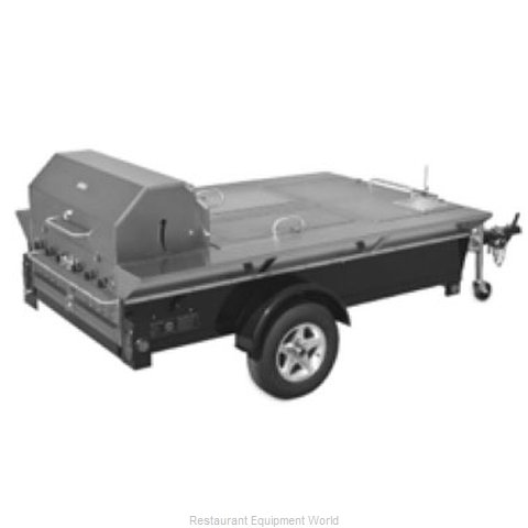 Crown Verity TG-4 Charbroiler Outdoor Trailer