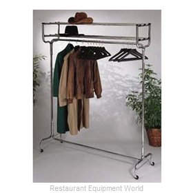 CSL Foodservice and Hospitality 1074-60P Hanger Valet Rack