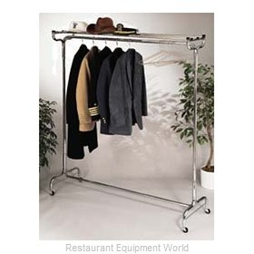 CSL Foodservice and Hospitality 1075-48 Hanger Valet Rack