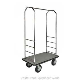 CSL Foodservice and Hospitality 2000GY-010 Bellman's Cart