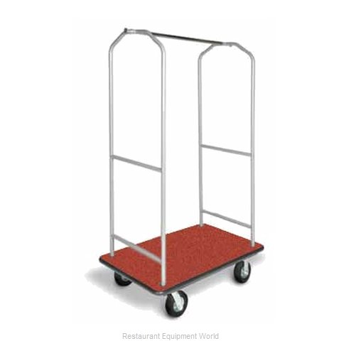 CSL Foodservice and Hospitality 2005BK-060-RED Bellman's Cart