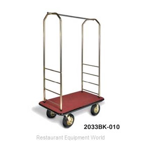 CSL Foodservice and Hospitality 2033BK-030 Bellman's Cart