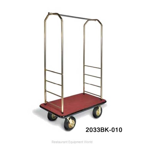 CSL Foodservice and Hospitality 2033BK-040 Bellman's Cart