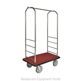 CSL Foodservice and Hospitality 2099GY-010 Bellman's Cart