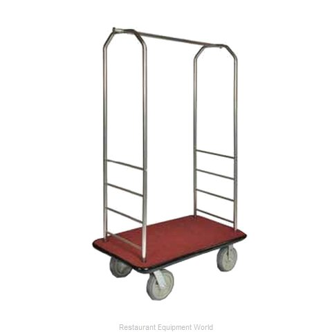 CSL Foodservice and Hospitality 2099GY-040 Bellman's Cart