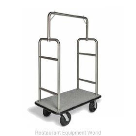 CSL Foodservice and Hospitality 2599BK-010-GRY Luggage Cart