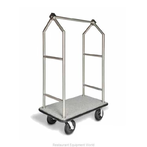 CSL Foodservice and Hospitality 2699BK-010-GRY Luggage Cart