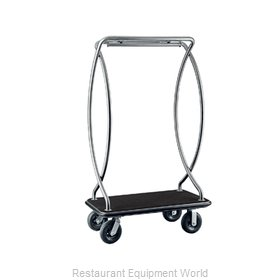 CSL Foodservice and Hospitality 2899BK-010-BLK Cart, Luggage