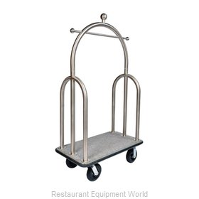 CSL Foodservice and Hospitality 3599BK-010-GRY Cart, Luggage