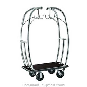 CSL Foodservice and Hospitality 3699BK-010-BLK Luggage Cart