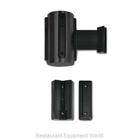 CSL Foodservice and Hospitality 5515BK-BLK Crowd Control Stanchion Accessories