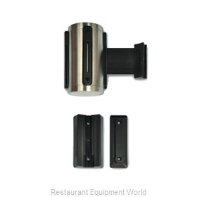 CSL Foodservice and Hospitality 5515SS-BLK Crowd Control Stanchion Accessories