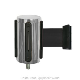 CSL Foodservice and Hospitality 5521-BLK Crowd Control Stanchion Accessories