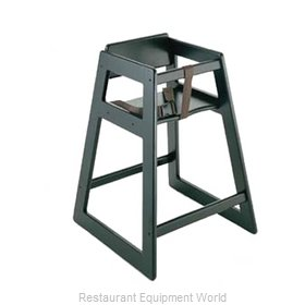 CSL Foodservice and Hospitality 803BL-2 High Chair Wood