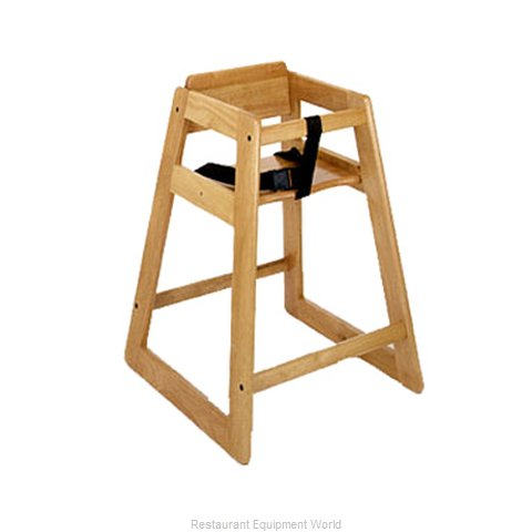 CSL Foodservice and Hospitality 822LT-2 High Chair Wood