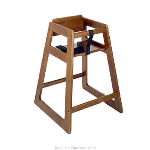 CSL Foodservice and Hospitality 824DK High Chair Wood