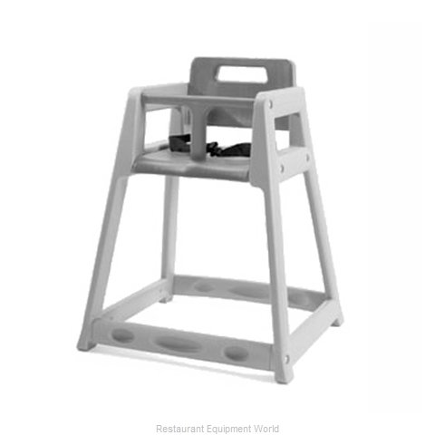 CSL Foodservice and Hospitality 850DGY High Chair Plastic