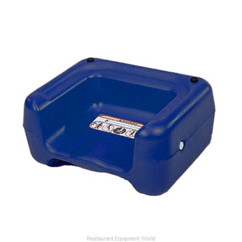 CSL Foodservice and Hospitality 855BLU-1 Booster Child Youth Chair Plastic