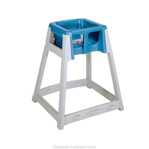 CSL Foodservice and Hospitality 877-BLU High Chair Plastic