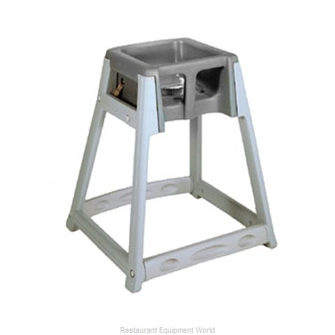 CSL Foodservice and Hospitality 877-BRN High Chair Plastic