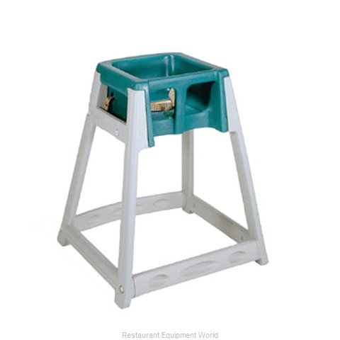 CSL Foodservice and Hospitality 877-GRN High Chair Plastic