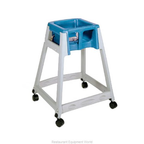 CSL Foodservice and Hospitality 877C-BLU High Chair Plastic