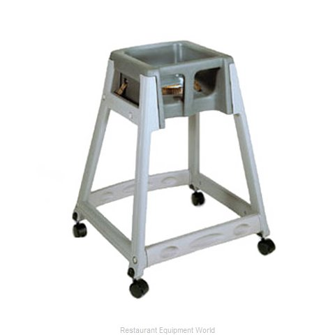 CSL Foodservice and Hospitality 877C-DGY High Chair Plastic